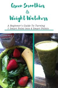 Weight Watchers smoothies