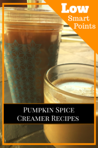 pumpkin spice creamer recipes