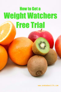 weight watchers free trial pin